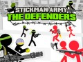 Oyunlar Stickman Army: The Defenders