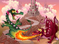 Oyunlar Fairy Tale Dragons Memory