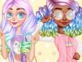 Oyunlar Princesses Kawaii Looks and Manicure